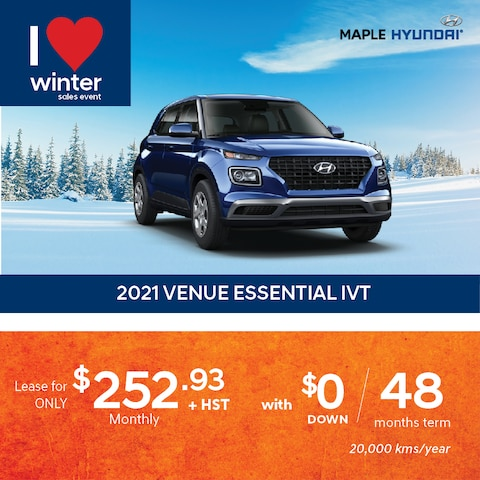 Hyundai Venue Lease Promotion
