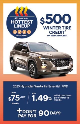 Hottest Lineup 2020 Santa Fe