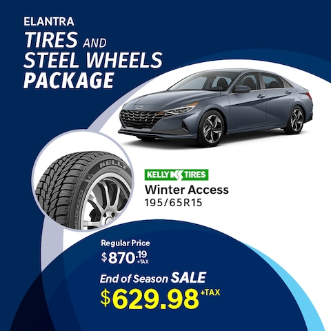 Elantra Tire and Wheel Package