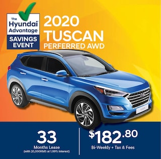 2020 Hyundai Tucson Lease Special