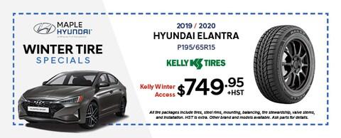 2019/2020 Hyundai Elantra Kelly Tires