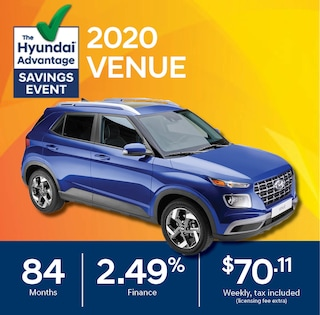 2020 Hyundai Venue Finance Special