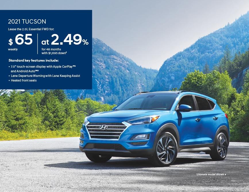 2021 Hyundai Tucson 2.0 Essential