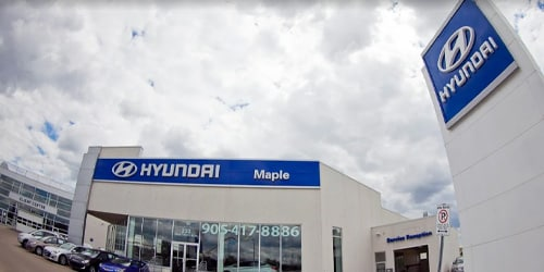 Start Your Purchase Online at Maple Hyundai