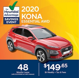 2020 Hyundai KONA Lease Special