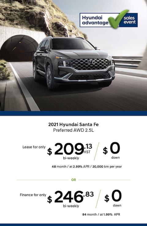 Hyundai Santa Fe Preferred