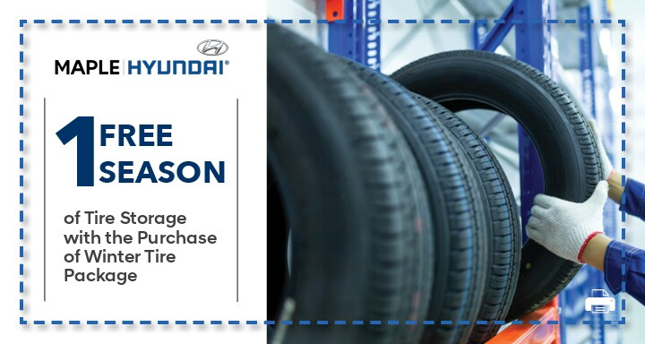 Winter Tire Storage with the Purchase of Winter Tire Set