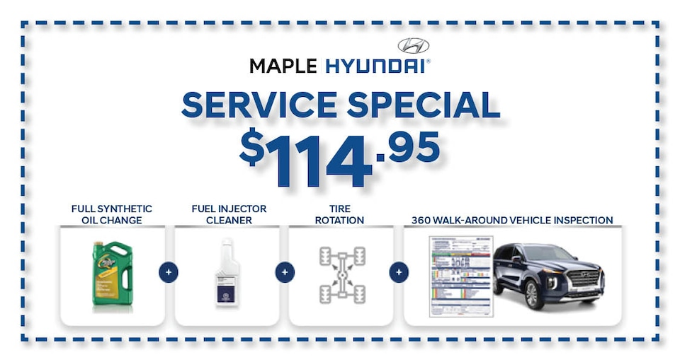 Hyundai Summer Service Special