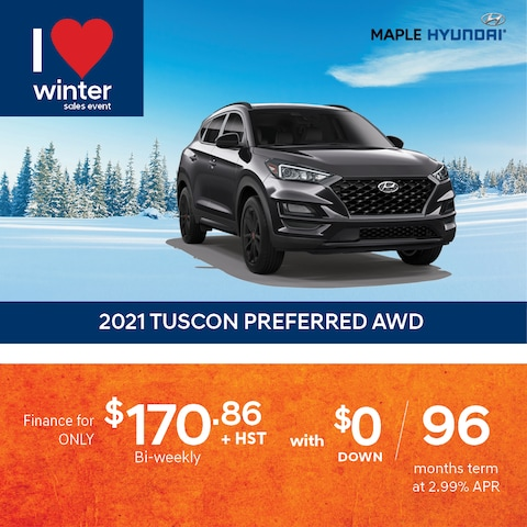 2021 Tucson Preferred Finance Special