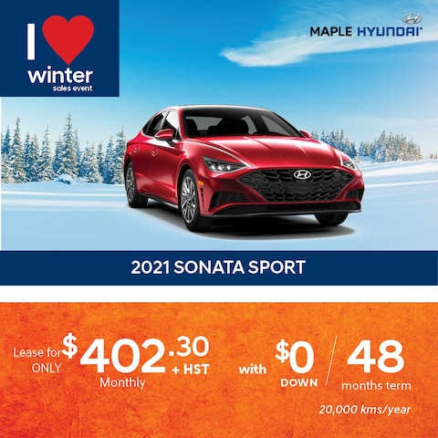 2021 Sonata Sport Lease Promotion