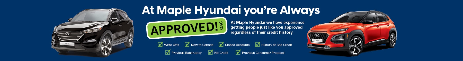 Get Pre-Qualified for a Vehicle - Maple Hyundai