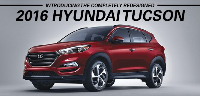 The New Redesigned 2016 Tucson | Maple Hyundai