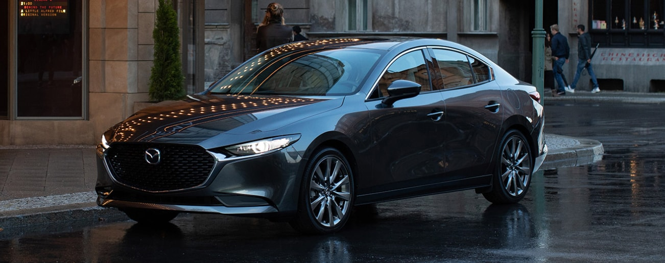 2020 Mazda3 4-Door Compact Sedan - Maple Mazda
