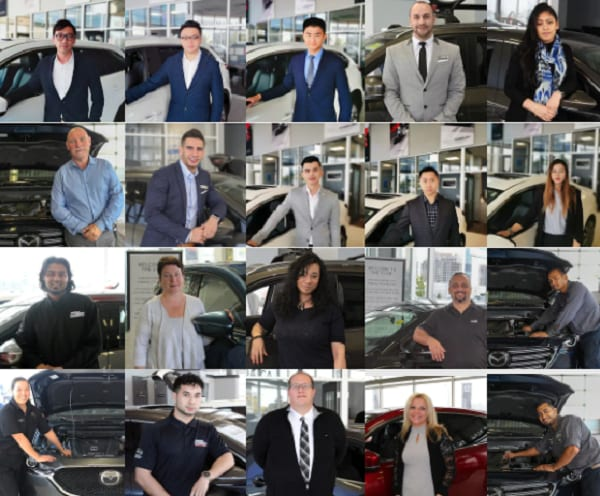 Meet our Staff - Maple Mazda