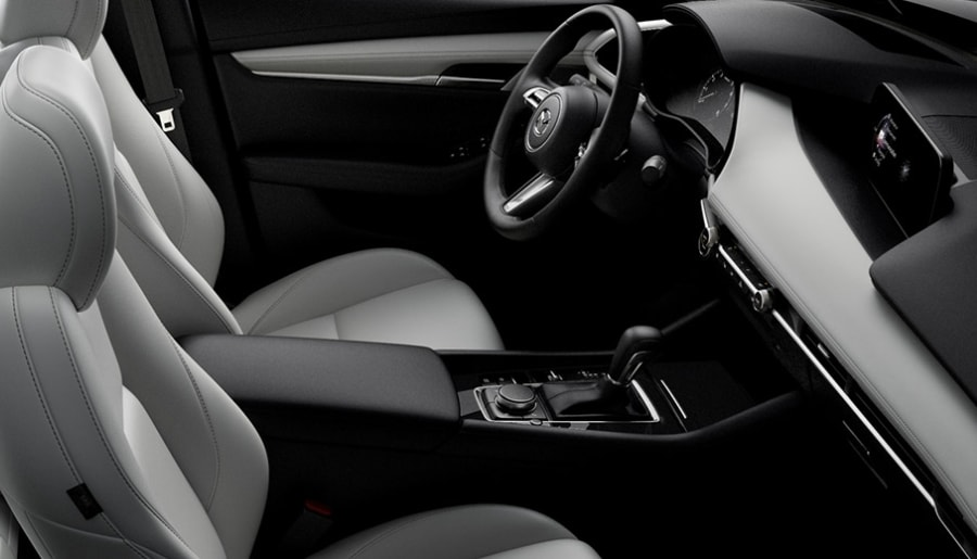 2020 Mazda3 Sedan Interior - Maple Mazda
