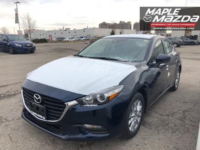 2018 Mazda Mazda3 Sport GS - Sunroof - Auto-AC-Bluetooth-One Owner Hatchback