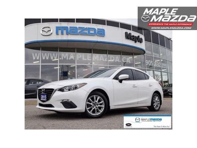 2015 Mazda Mazda3 GS One Owner,Cam,Htd Sts,Bluetooth Sedan