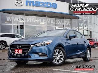 2018 Mazda Mazda3 Sport GS - Heated Seats - Auto-AC-Bluetooth-One Owner Hatchback