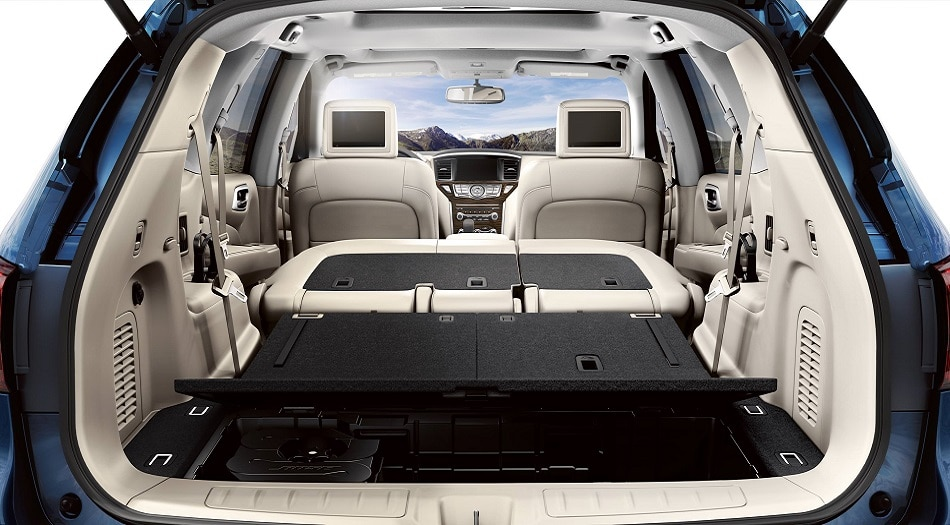 2020 Nissan Pathfinder Cargo Space