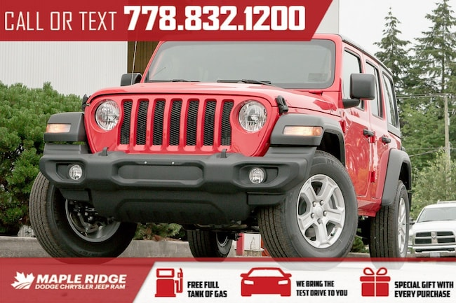 2018 Jeep Wrangler Unlimited Sport SUV