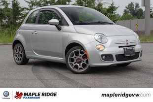 2012 FIAT 500 Sport BC CAR, GREAT ON GAS, PERFECT FOR THE CITY! Hatchback