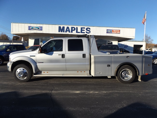 2007 Ford F-550 Chassis Lariat Truck Crew Cab