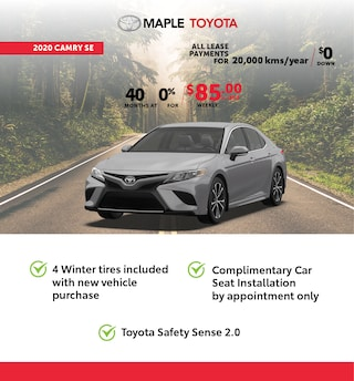 Toyota Camry Oct Red Tag
