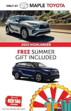 2020 Toyota Highlander Special