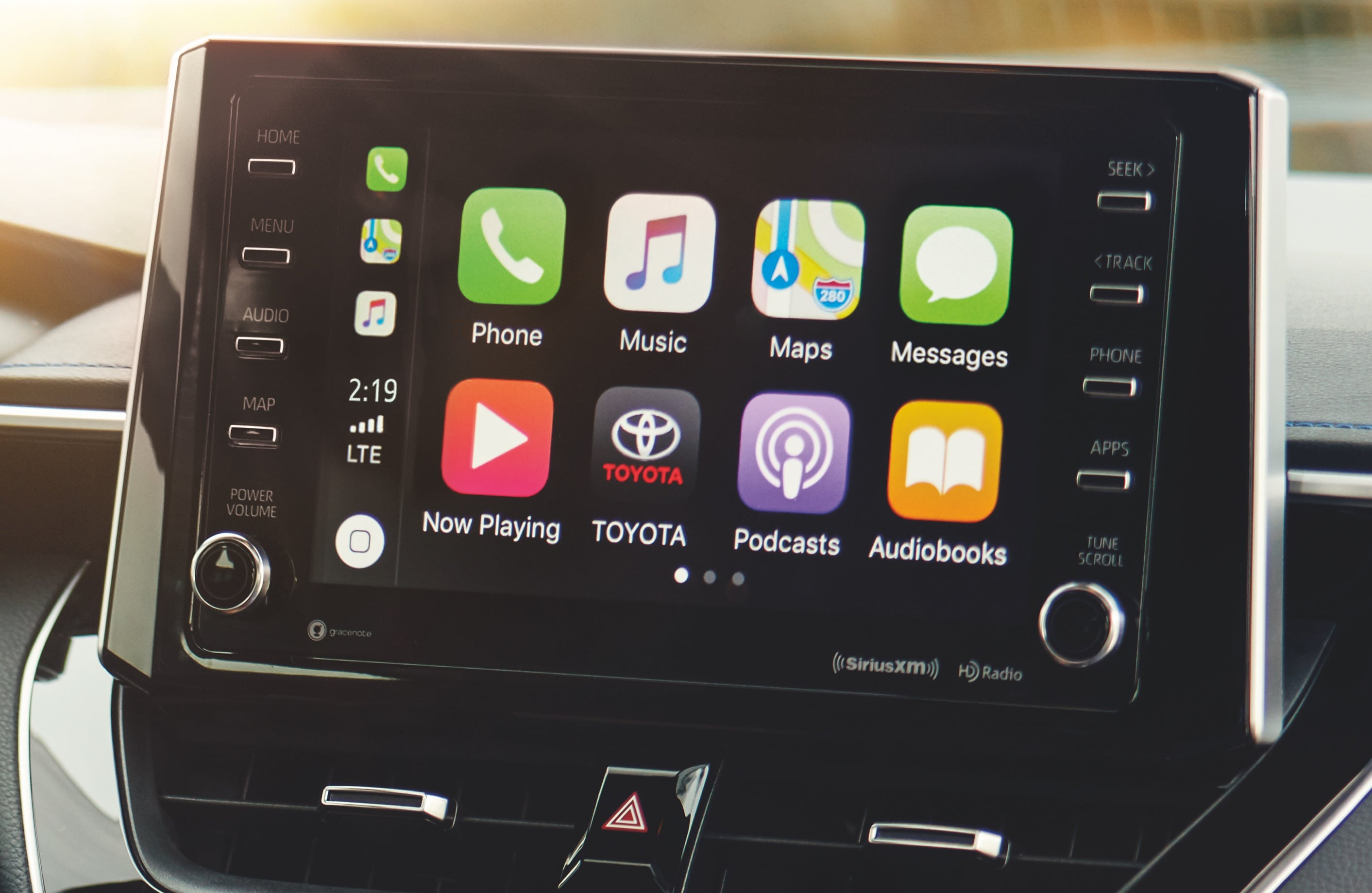 2020 Corolla Apple CarPlay