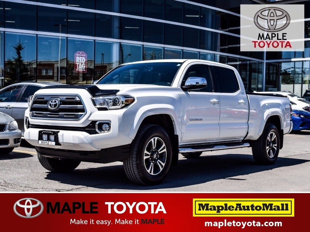 2016 Toyota Tacoma V6 4X4 LIMITED PKG - NAVIGATION LEATHER MOONROOF T Truck Double-Cab