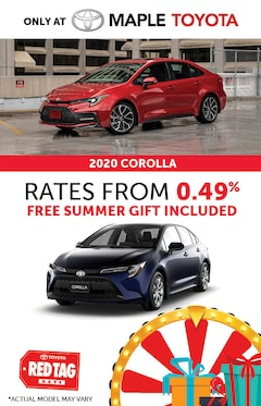 2020 Toyota Corolla Red Tag Days Special