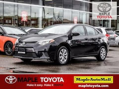 2016 Toyota Corolla LE BACKUP CAMERA HEATED SEATS BLUETOOTH Sedan