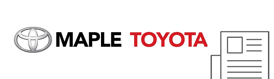 Automotive Industry Newsletter - Maple Toyota