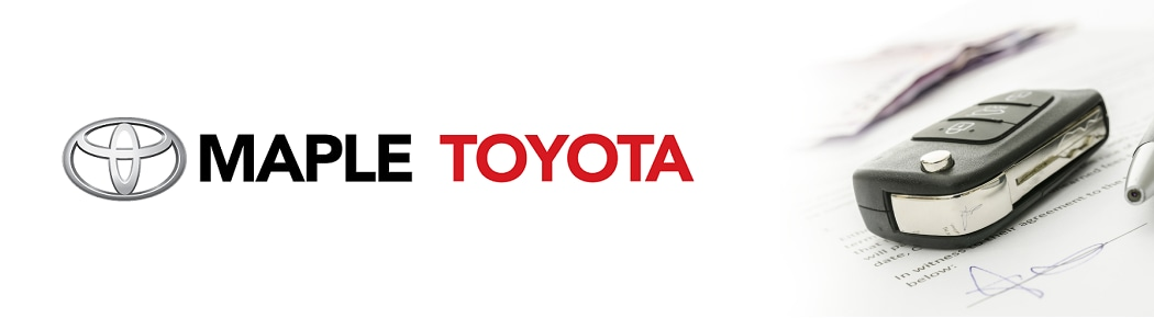 Toyota Financing Options - Maple Toyota