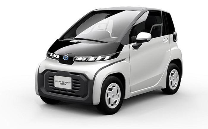 Toyota Ultra-Compact BEV Concept Vehicle