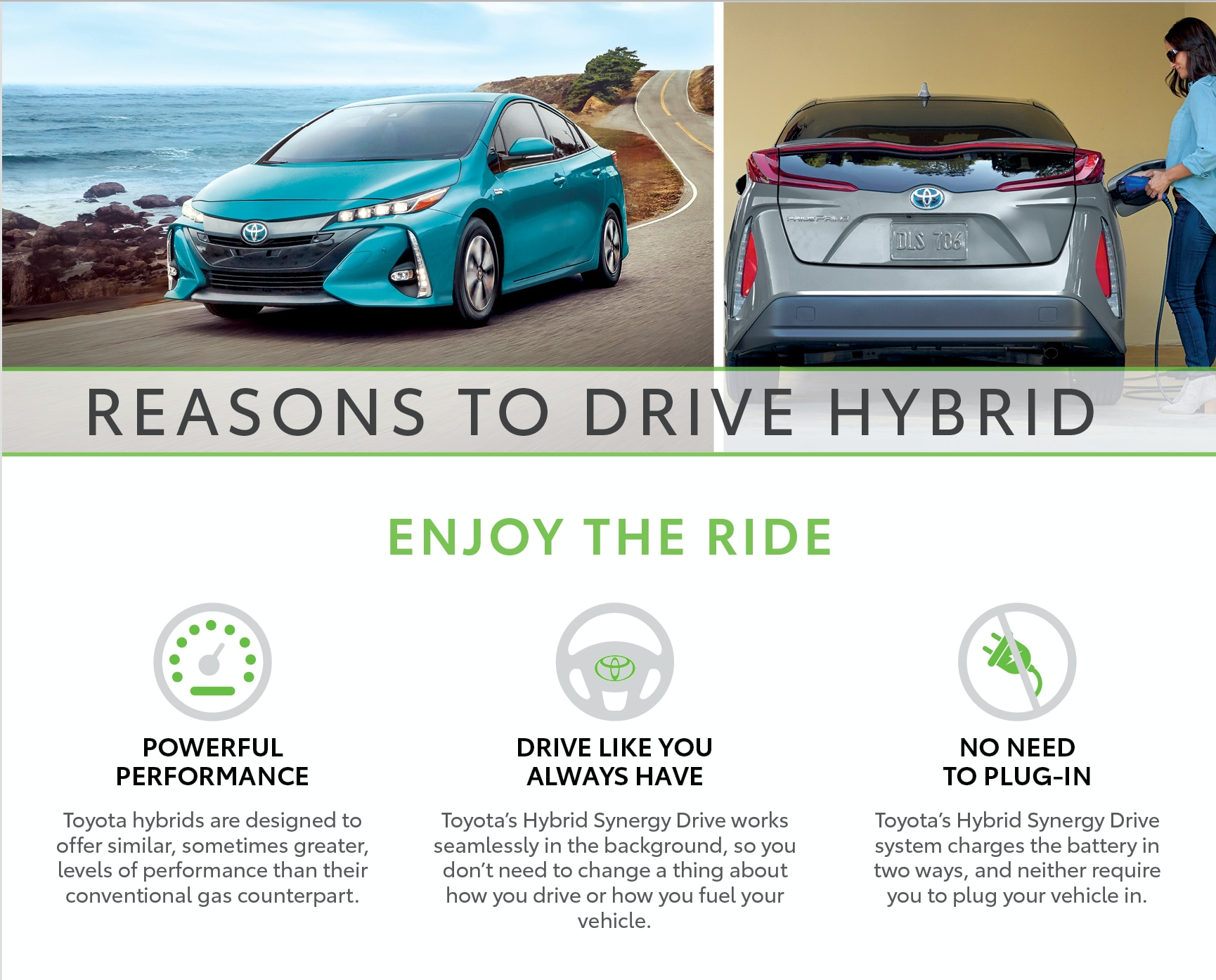 Reason to Drive Hybrid - Maple Toyota
