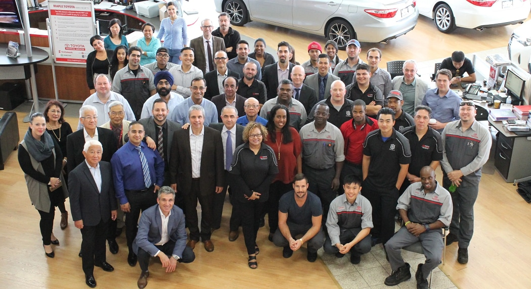 Dealership Awards at Maple Toyota