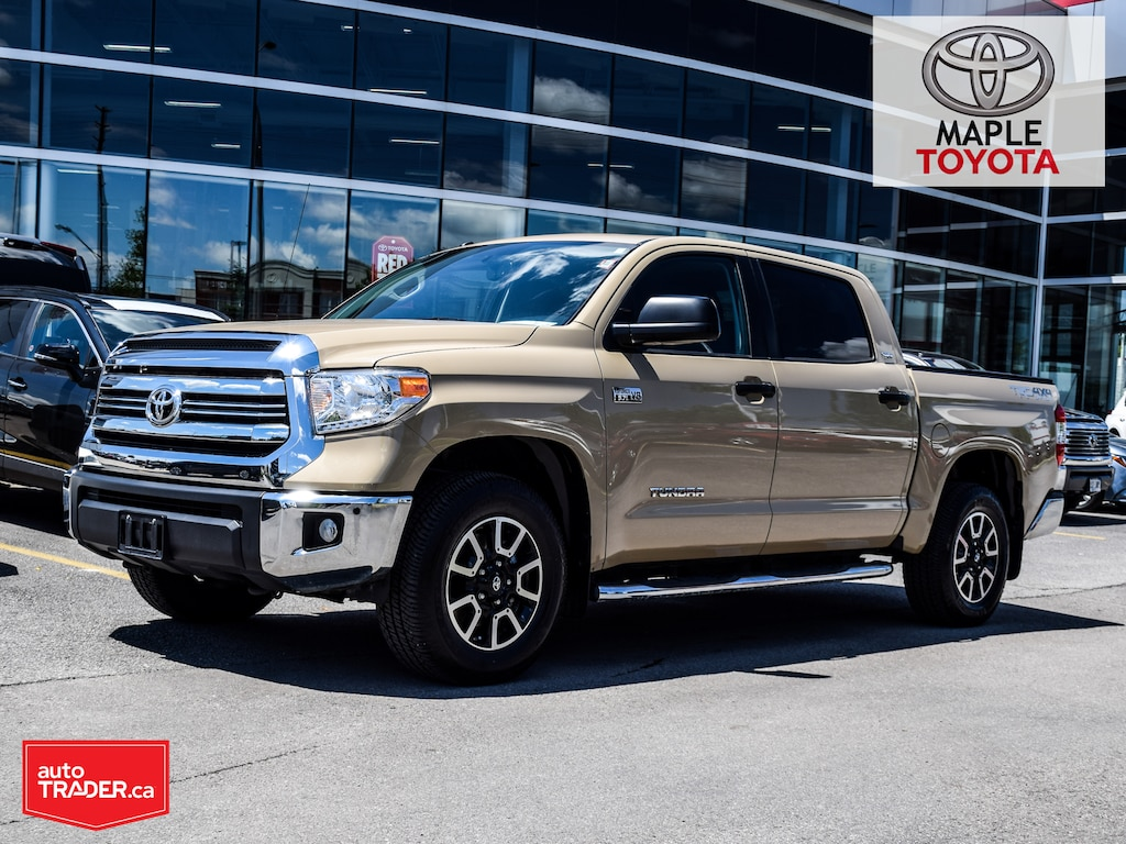 Used 2017 Toyota Tundra For Sale at Maple Toyota | VIN: 5TFDY5F17HX673460