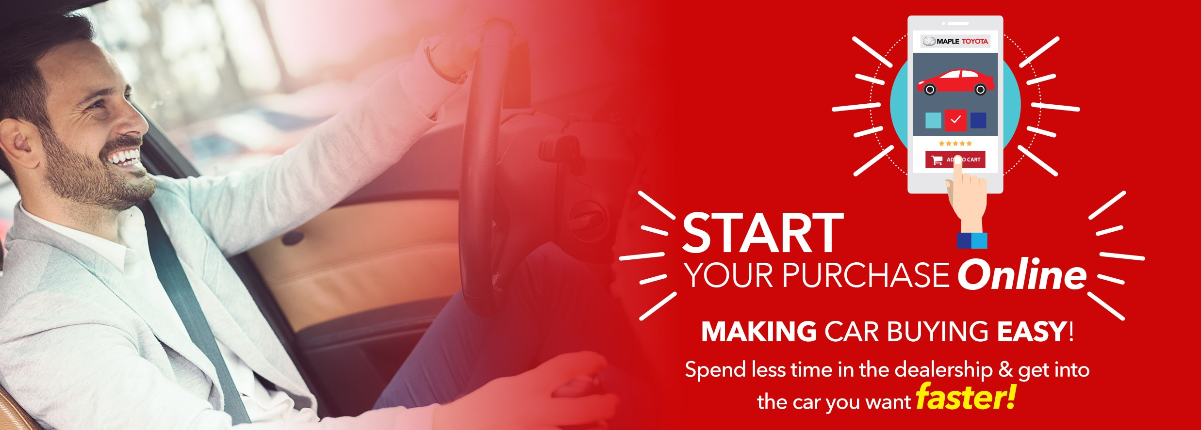 Start your Purchase Online - Maple Toyota