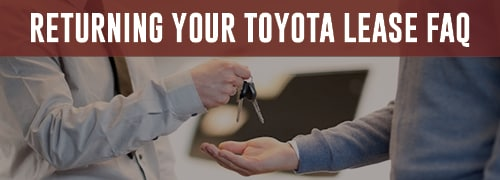 Returning your Toyota Lease - Maple Toyota