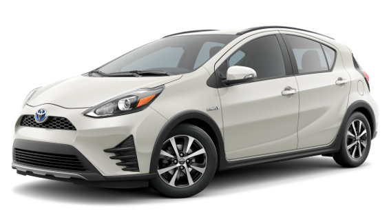 Viewing the 2019 Toyota Prius c