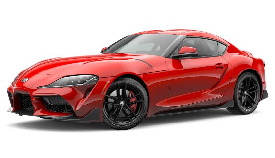 Viewing the 2020 Toyota Supra