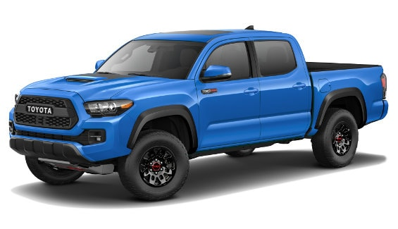 Viewing the 2020 Toyota Tacoma