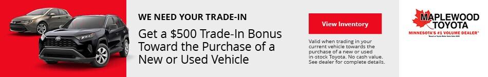 Trade-In Bonus