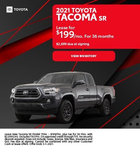 2021 Toyota Tacoma SR February