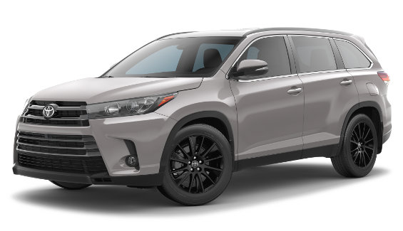 Viewing the 2019 Toyota Highlander