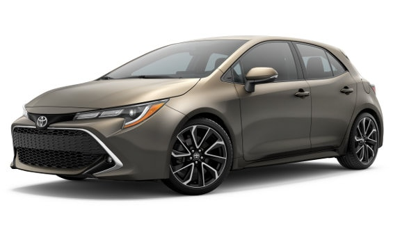 Viewing the 2020 Toyota Corolla Hatchback