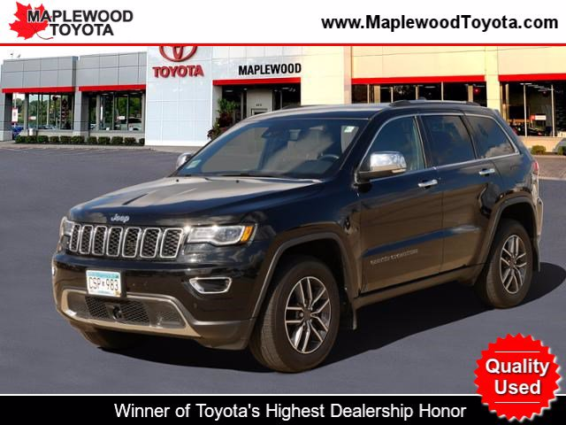 Used 2019 Jeep Grand Cherokee Limited with VIN 1C4RJFBG0KC608734 for sale in Maplewood, Minnesota