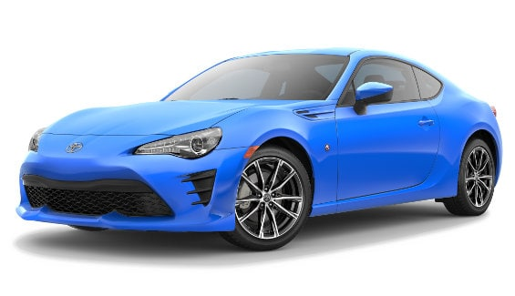 Viewing the 2019 Toyota 86