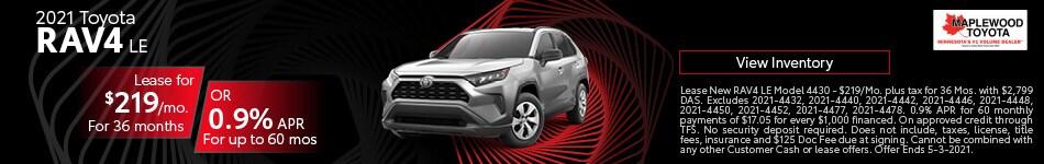 2021 Toyota RAV4 LE March